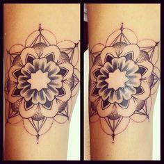Mandala tattoo by Olliet2 at Kaleidoscope Tattoo studio in Bondi, Sydney