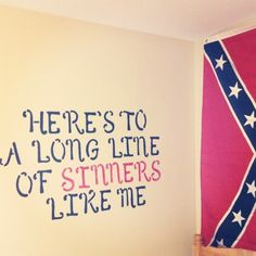 Confederate Flag Bedroom