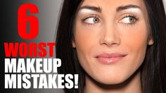 6 Worst Makeup Mistakes! This guy really knows what he is talking about. Wow!