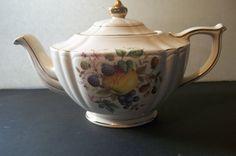 Rare Sadler Teapot Collectible by Castawayacres on Etsy