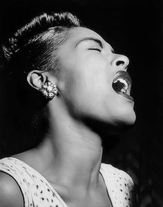 Billie Holiday's Lipstick and Bling - Old Hollywood Style Inspiration - Photos