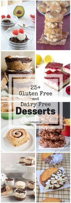 25+ Gluten Free and Dairy Free Desserts | NoBiggie.net