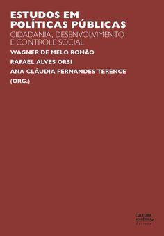 Estudos em políticas públicas - Ciências Sociais - Cultura Acadêmica
