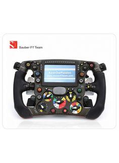 "Sauber F1 Team Mousepad ""Steering Wheel"" Mousepad, F1, Passion"