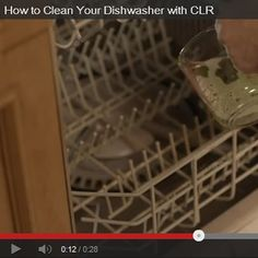 How to Clean Your Dishwasher with CLR