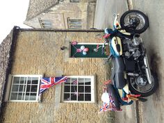 Jubilee Ural in Bampton outside the cottage.
