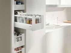 Der Vorratsschrank auch für kleine Küchen