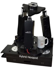 Patent Pending Hybrid Hexapod™ for applications needing 6-D Nano Precision ®.  ALIO designs and builds these scalable systems from grams of payloads to hundreds of kilograms all with nano precision in all 6 dimensions of freedom.