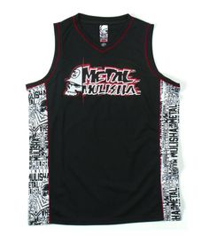 Metal Mulisha MISSION JERSEY Mock Mesh Athletic Jersey Sleeveless Tank Top  #MetalMulisha #Jerseys