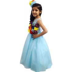 d11f96d51218 19 Best Children Long Party Gown and Frocks images in 2019