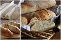 Julia-Child's-French-Bread-Collage-Barbara-Bakes Adapted for kitchen Aid To try when I have all day and a baby wrangler