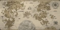 World Map by Machina-Obscura