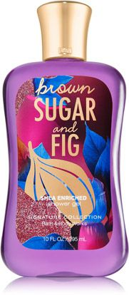 Brown Sugar & Fig Shower Gel - Signature Collection - Bath & Body Works