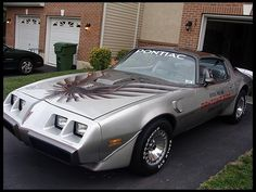 T114 1979 Pontiac Trans Am Silver Anniversary Daytona 500 Pace Car.  Photo 1.  Click to See More Photos  !!