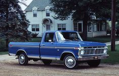 Ford F100. Great style and dependable.