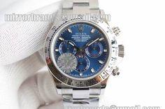 Rolex Daytona 2016 Baselworld 116509 JF Best Edition Blue Dial on SS Bracelet A7750
