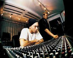 Eminem And Dr Dre Studio .