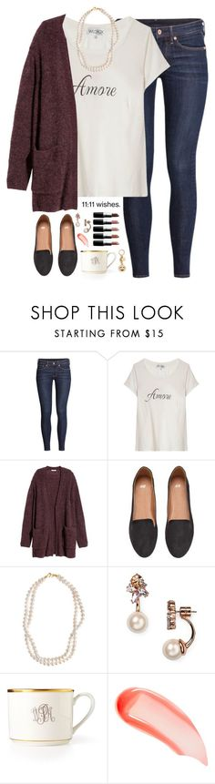"""""""amoré"""" by kaley-ii ❤ liked on Polyvore featuring H&M, Wildfox, STELLA McCARTNEY, Kate Spade, Pickard, MAC Cosmetics and NARS Cosmetics"""