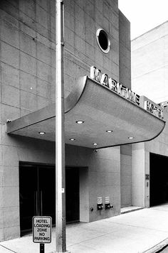 Maritime Hotel (former National Maritime Union), New York  by Albert C. Ledner in 1966