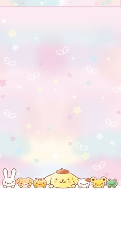 kawaii characters wallpaper