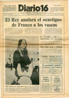 Lunes 16 de octubre de 1976 y 12 pesetas de precio. 32 páginas.