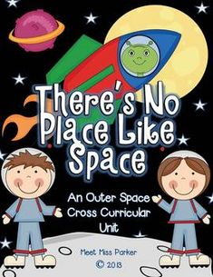 Outer Space Unit: Science, Math & Literacy Fun COMMON CORE