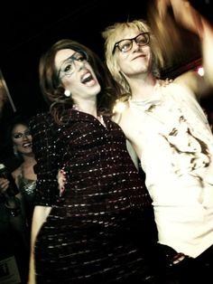 Sharon Needles And Alaska / fetus queens + drag royalty Queen Fashion, Fashion Beauty, Alaska And Sharon, Rupaul Drag Race Winners, Lady Mary Crawley, Alaska Thunderfuck, Jinkx Monsoon, Sharon Needles, Violet Chachki