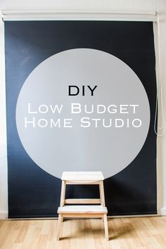 Dein eigenes Home Studio zum kleinen Preis. #fotografie #lowbudgetphotography #lowbudget #homestudio #diy