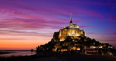 mont saint michel by scrittore di luce, via Flickr