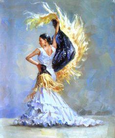 Résultat d'images pour oio painting flemengo Ballerina Sketch, Tango Art, Polka Dot Art, Spanish Dancer, Dance Paintings, Stoner Art, Flamenco Dancers, Dance Poses, Mexican Art