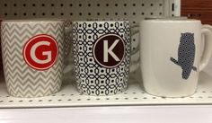 #target mugs $5 Birthday Wishlist, Discover Yourself, Target, Owl, Mugs, Tableware, Pattern, Design, Products
