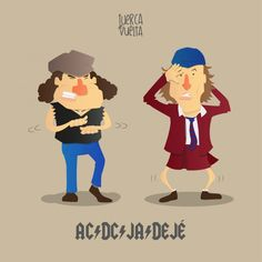 AC DC JA DEJÉ. #humor #risa #graciosas #chistosas #divertidas