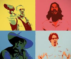 Characters of the iconic movie The Big Lebowski, in pop art panels. The Big Lebowski, Framed Prints, Canvas Prints, Iconic Movies, Panel Art, Prints For Sale, Wood Print, Toddler Outfits, Beach Towel