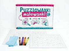 Puzzlowanki puzzle ścieralne - Samodobro - Puzzle dla dzieci