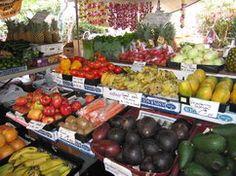 Kona Farmers Market - Alii Drive, Kailua Kona, HAWAII