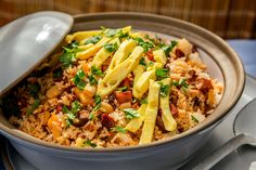 Mochi rice dressing recipe (Photo: Tony Cenicola/The New York Times)