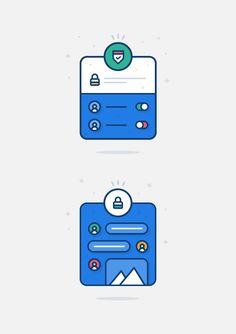 Illustrations for a messaging app. Website Illustration, Outline Illustration, Victor Design, Motion App, Sign Templates, Type Posters, Ui Web, Ui Inspiration, Mobile Design