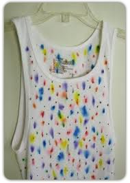 If you tried the ceramics project from last week, or if you are a typical American, you probably have a few Sharpies® lying around your house. This sharpie tye dye t shirt Projects For Kids, Crafts For Kids, Arts And Crafts, Diy Projects, Painted Closet, Bible School Crafts, Wall Decor Design, Ceramics Projects, Camping Crafts