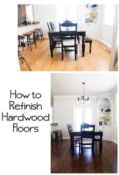 do it yourself divas: DIY: How to Refinish Harwood Floors