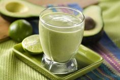 PEAR AVOCADO SMOOTHIE    1 large pear, chopped  1/2 cup green grapes  1/4 avocado  2 teaspoons honey  1 teaspoon lemon juice  Blend and top with chopped pecans.