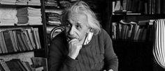 """""""Une vie tranquille et modeste apporte plus de joie que la recherche du succès, qui implique une agitation permanente"""", écrivait le chercheur en 1922."""