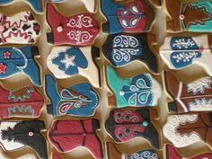 Cowboy Boot Cookies