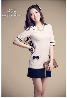 2013 Spring Fashion Collection Dress QT11006 - korean japan fashion clothes dresses wholesale women