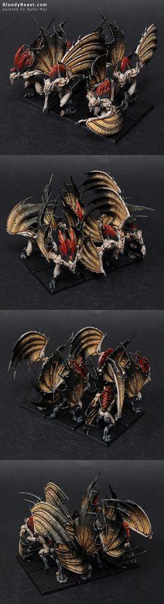Vampire Counts Vargheist Unit painted by Rafal Maj (BloodyBeast.com)