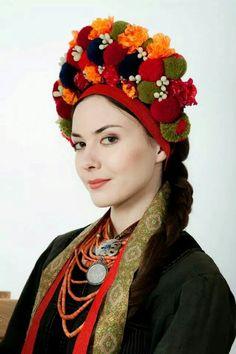 Ukrainian women's headwear.