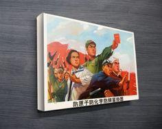 Comrades-Communist-Vintage-Poster-on-Canvas  http://www.canvasprintsaustralia.net.au/product/comrades-communist-poster/