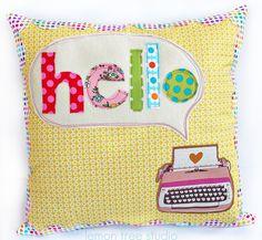 - HELLO Pillow -