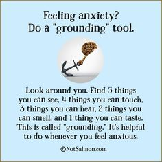 quote anxiety grounding
