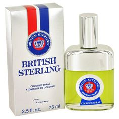 British Sterling By Dana Cologne Spray 2.5 Oz