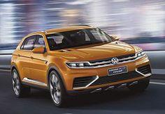 19-Apr-2013 9:45 - VOLKSWAGEN CROSSBLUE COUPÉ, EEN VOORPROEFJE. Gisteren verschenen de eerste schetsen van de Volkswagen Crossblue Coupé op internet, inmiddels liggen ook al de fotos van de nieuwe Duitse SUV voortijdig op straat.